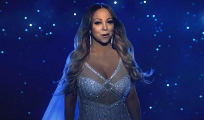 Η Mariah Carey ερμηνεύει το τραγούδι της ταινίας «The Star»