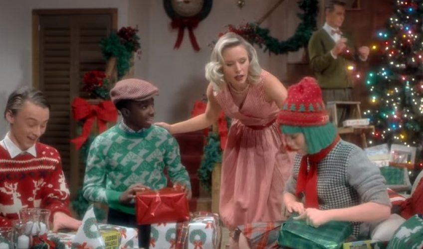 Sia: Ένα πάρτι με διάσημους ηθοποιούς στο video clip του «Santa's Coming For Us»