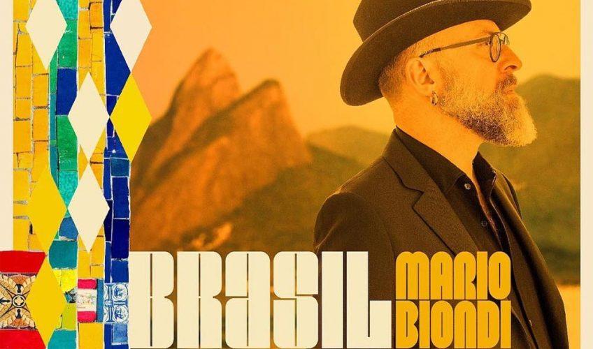 "O Mario Biondi παρέδωσε το νέο του δίσκο με τίτλο ""Brasil"" …"