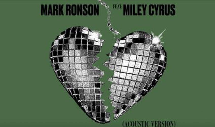 """Ο 5 φορές νικητής βραβείου Grammy και παραγωγός Mark Ronson επέστρεψε με το smash hit """"Nothing Breaks Like A Heart"""" στο οποίο συμμετέχει η Miley Cyrus."""