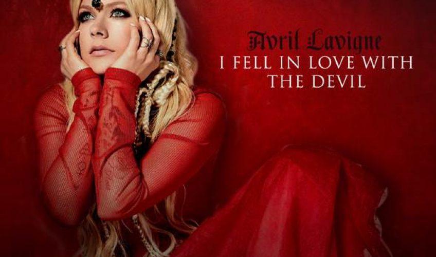 """Σε μία από τις πιο δημιουργικές φάσεις της καριέρας της, η Καναδέζα σουπερστάρ Avril Lavigne κυκλοφορησε το """"I Fell In Love With The Devil""""."""