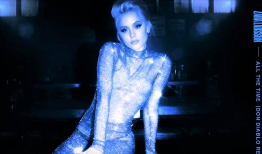 """Η βραβευμένη Zara Larsson μας παρουσιάζει το νέο της single """"All The Time""""."""
