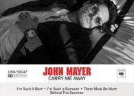 """Ο βραβευμένος με βραβείο Grammy, John Mayer, μόλις κυκλοφόρησε το νέο του single """"Carry Me Away"""", λίγο πριν επισκεφτεί την Ευρώπη για την συνέχεια του sold out παγκοσμίου tour του."""