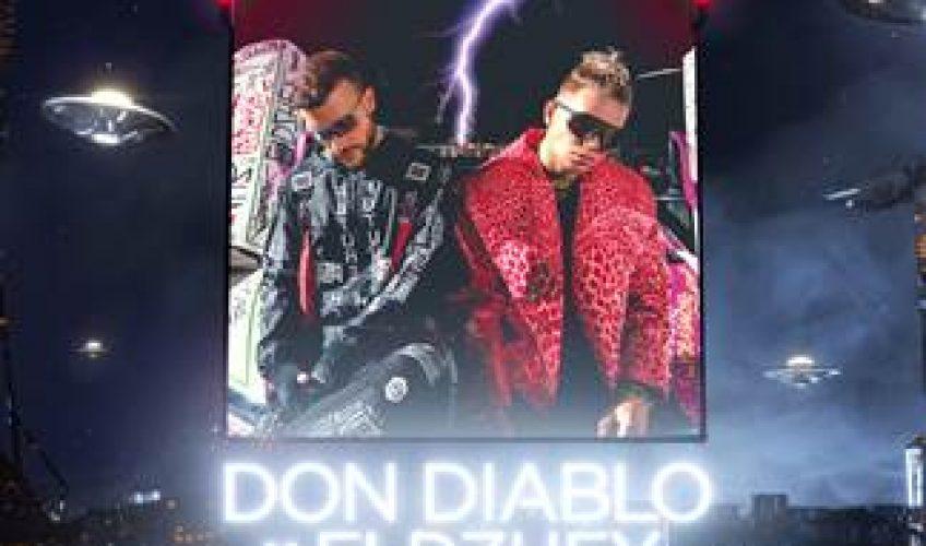 """Ο Don Diablo ενώνει τις δυνάμεις του με τον πιο επίκαιρο Ρώσσο hip-hop καλλιτέχνη Eldzhey για το νέο party anthem """"UFO""""."""