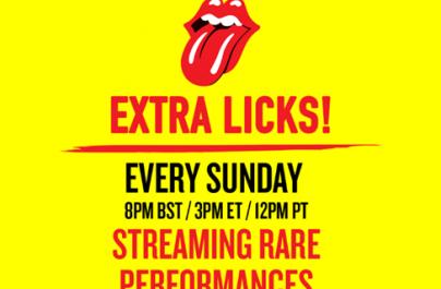 Το θρυλικό ροκ συγκρότημα The Rolling Stones, ανακοινώνει την καμπάνια 'Extra Licks'.