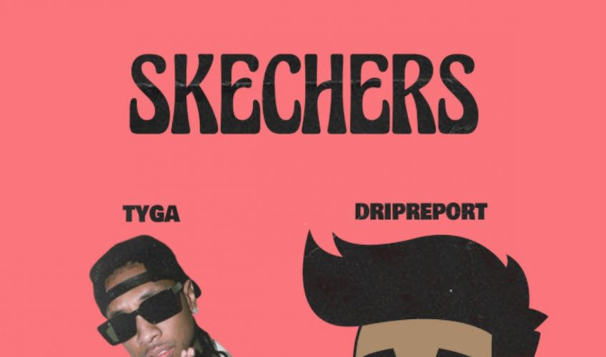"""Ο ανερχόμενος καλλιτέχνης που έχει ήδη κατακτήσει το διαδίκτυο, ο DripReport μόλις κυκλοφόρησε το remix του single του """"Skechers"""",  με την συμμετοχή του Tyga."""