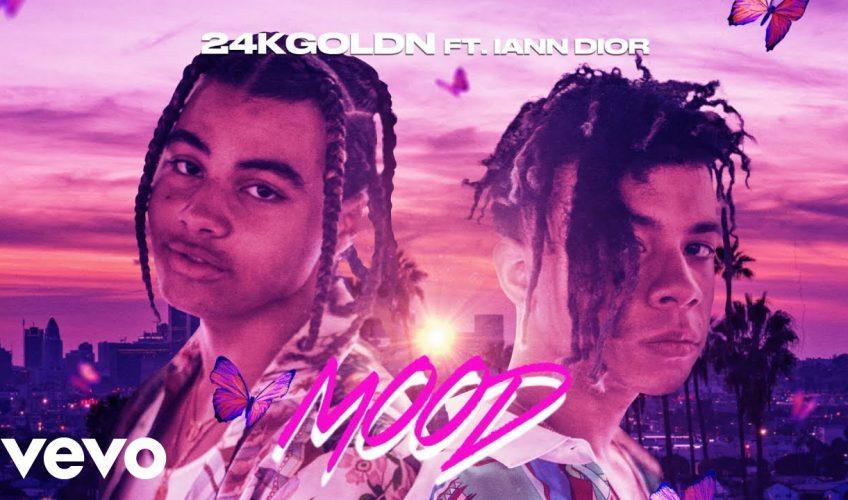 "O 24kGoldn κυκλοφορεί σε συνεργασία με τον Iann Dior το νέο του single ""Mood""."