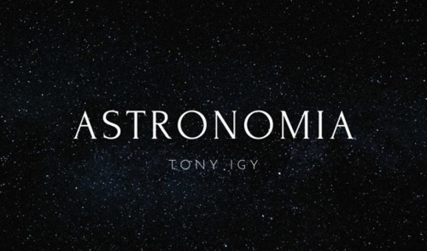 "To ""Astronomia (Never Go Home)"" βρίσκει τον Ρώσσο superstar DJ και παραγωγό, Tony Igy να συνεργάζεται με τον Jesper Borgen (που έγραψε το global hit του Alan Walker ""Faded"")."