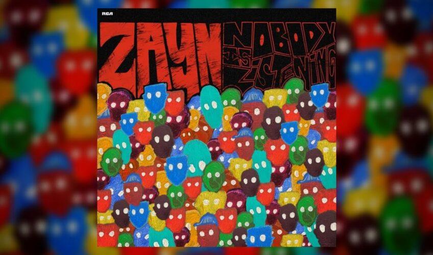 """Σήμερα ο Zayn παρουσίασε το τρίτο studio album του """"Nobody Is Listening""""."""
