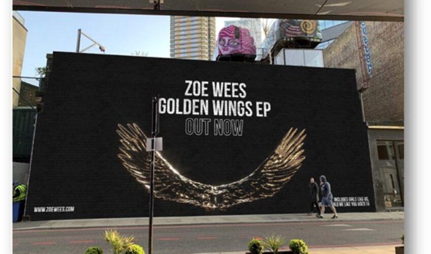 """Η Zoe Wees που κατακτά σιγά-σιγά σχεδόν τον πλανήτη με τη μουσική της, """"ανοίγει τα χρυσά φτερά της""""  και κυκλοφορεί το πολύ-αναμενόμενο ντεμπούτο της EP με τίτλο """"Golden Wings""""."""