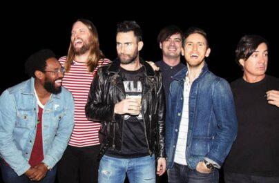 Το νέο album των Maroon 5 είναι γεγονός σε παραγωγή του J Kash.